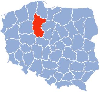 Bydgoszcz Voivodeship - Image: Bydgoszcz Voivodship 1975