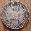 CANADA, NEWFOUNDLAND, GEORGE V -50 CENTS 1918 a - Flickr - woody1778a.jpg