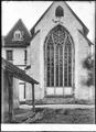 CH-NB - Hauterive (FR), Abbaye, Choeur, vue partielle extérieure - Collection Max van Berchem - EAD-6910.tif