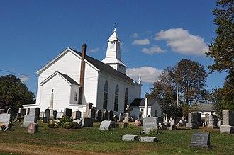 Cloverhill, New Jersey - Image: CLOVER HILL HISTORIC DISTRICT, HUNTERDON COUNTY