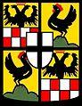 COA Johann II von Henneberg Schleusingen FA Fulda.jpg