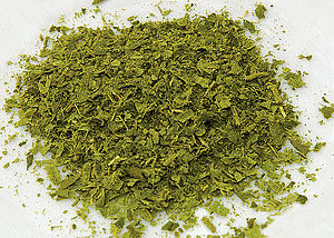 Backhousia citriodora - Dried and crushed Lemon myrtle leaves