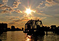 CSX Swing Bridge Sunset (5843913438).jpg