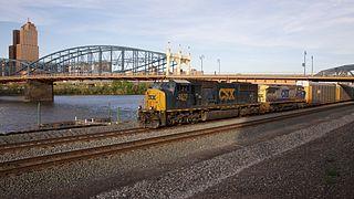Pittsburgh Subdivision CSX rail line