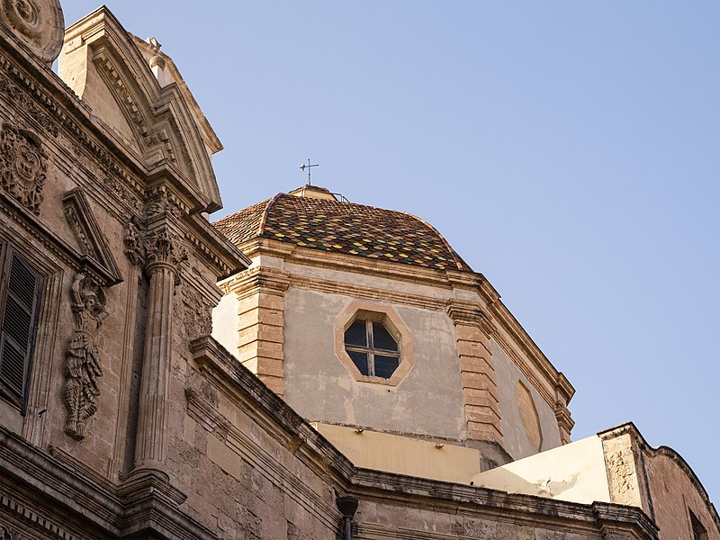800px Cagliari Chiesa di San Michele
