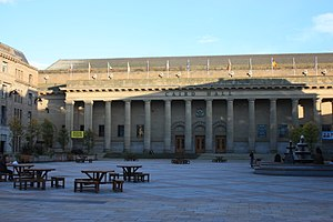 James Thomson (architect) - Thomson's magnum opus - Caird Hall and Caird Hall Square, Dundee