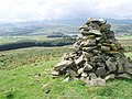 Cairn on Barlaes Hill - geograph.org.uk - 998847.jpg