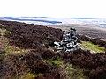 Cairn on Long Crag - geograph.org.uk - 1185473.jpg