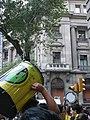 Caixa Catalunya - Correfoc infantil i preparatius del correfoc gran P1160735.JPG
