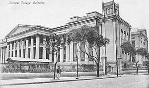 Medical College and Hospital, Kolkata - an older photo of the MCH building