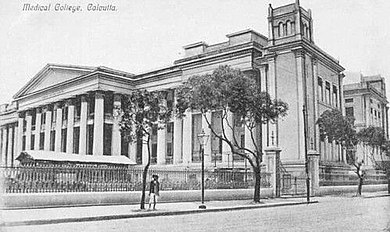 The University of Calcutta, established in 1857, is one of the three oldest modern state universities in India. Calcuttamedicalcollege1.jpg