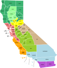 California economic regions map (labeled and colored).svg