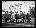 Calvin Coolidge and group outside White House, Washington, D.C. LCCN2016893179.jpg