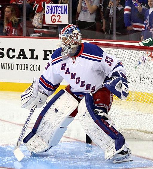Cam Talbot - New York Rangers