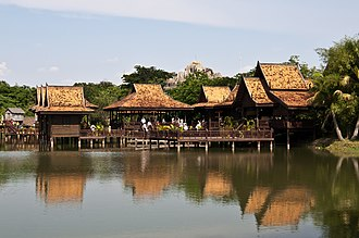 Siem Reap Province - Image: Cambodian Cultural Village (5633773562)