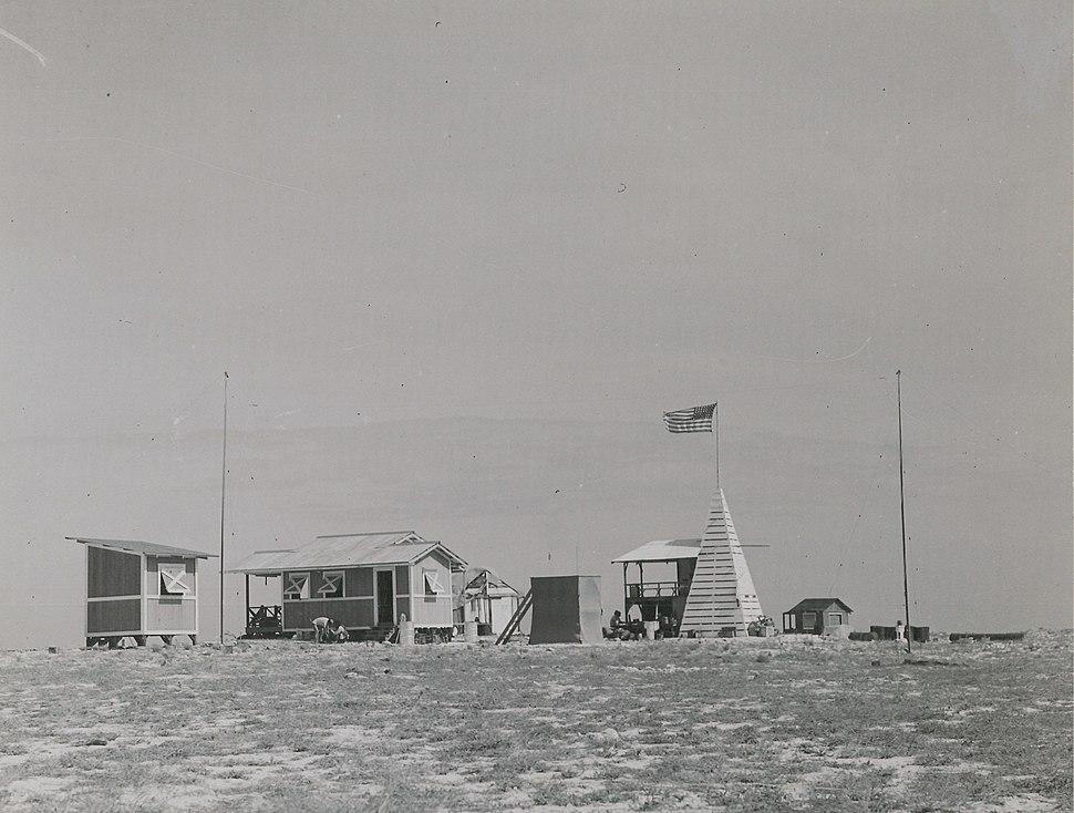 Camp at Jarvis Island (80-CF-798677-7)