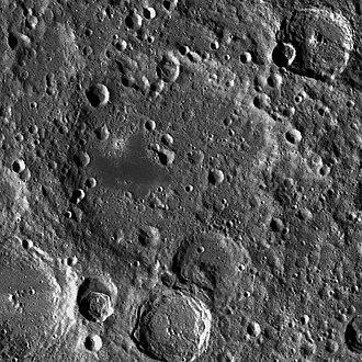 Campbell (lunar crater) - LRO WAC image