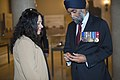 Canadian Minister of Defence, Harjit Sajjan, Lays a Wreath at the Tomb of the Unknown Soldier (34002427164).jpg