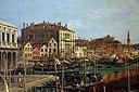 Canaletto, il molo verso la riva degli schiavoni con la colonna di san marco, ante 1742, 02.JPG
