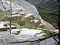 Canary Springs on the Main Terrace of Mammoth Hot Springs DyeClan.com - panoramio.jpg