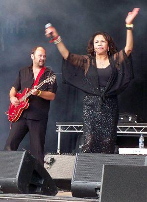 Candi Staton - Candi Staton onstage at Guilfest 2012.
