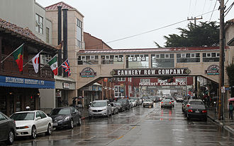 Monterey, California - Historic Cannery Row