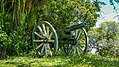 Cannon near Fort Nieuw Amsterdam in Suriname (31145000591).jpg