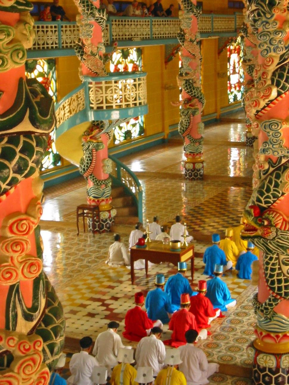 Cao Dai temple (Vietnam)