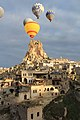 Cappadocia balloon trip, Ortahisar Castle (11894327104).jpg