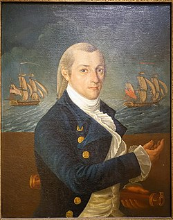 Captain John Carnes, by William Verstille, c. 1800, oil on canvas - Peabody Essex Museum - DSC07046.jpg