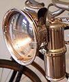 Carbide lamp on a bicycle.jpg