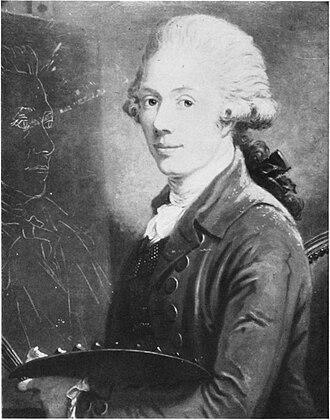Carl Frederik von Breda - 1787 Selfportrait