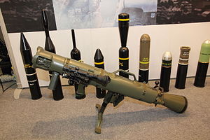 Carl Gustaf recoilless rifle - M3 variant with a variety of ammunition