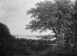 The Ruins of Stegeborg Castle near Vettern in Eastern Gotland