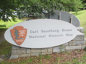 Carl Sandburg Home National Historic Site - The Carl Sandburg National Historic Site is located in picturesque Flat Rock, North Carolina.