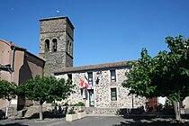 Carlencas eglise mairie.JPG