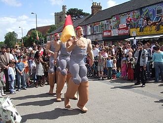 Cowley Road, Oxford - A scene from Cowley Road Carnival