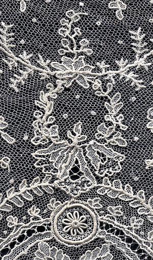 Needle lace - Needle lace, detail