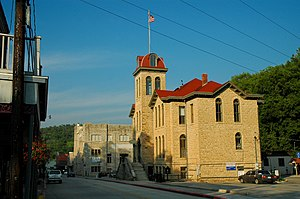 Carroll County, Arkansas - Carroll County Courthouse in Eureka Springs
