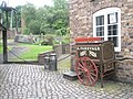 Cart outside the bakers at Blists Hill Open Air Museum - geograph.org.uk - 1461886.jpg