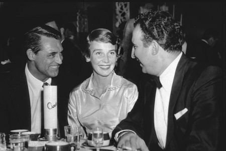Cary Grant Betsy Drake Dick Stabile 1955