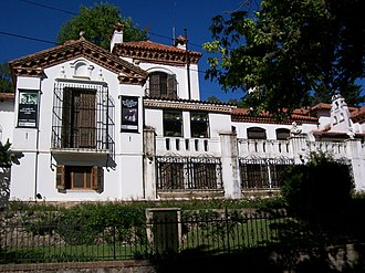 Manuel Mujica Láinez - The Paradise, his villa in Córdoba (architect: León Dourge)