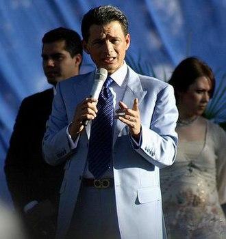 Televangelism - Cash Luna, an evangelical televangelist in Guatemala.