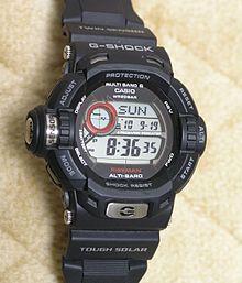 A Casio G-Shock GW-9200J