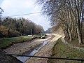 Castets-en-Dorthe Canal à sec.JPG
