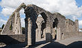 Castledermot Friary Nave View into North Transept 2013 09 06.jpg