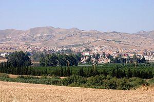 Catenanuova - Image: Catenanuova panorama