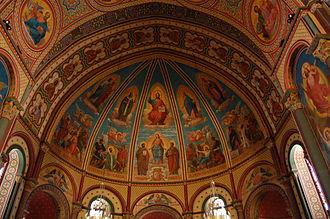 Agen Cathedral - Image: Cathédrale Saint Caprais Agen Interieur 3