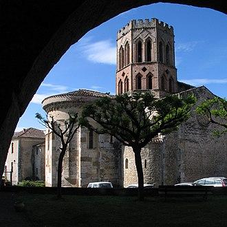 Ariège (department) - Saint-Lizier Cathedral