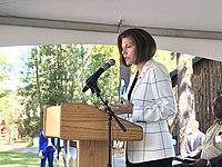Catherine Cortez Masto at 2019 Lake Tahoe Summit.jpg